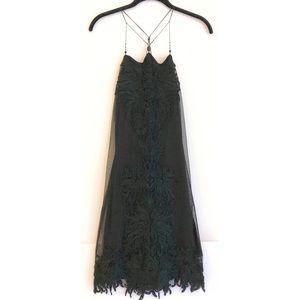 Vintage 90's Vivienne Tam Cocktail Dress/LBD